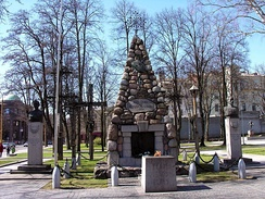 Tomb of the Unknown Soldier in Kaunas, dedicated to those who died in the Lithuanian Wars of Independence