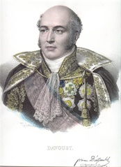 Marshal Louis-Nicolas Davout led the French III Corps at Teugen-Hausen.