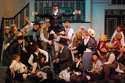 Beeston Musical Theatre Group performing My Fair Lady in Nottingham, England, 2011
