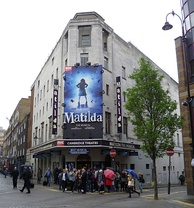 Since 2011, Matilda the Musical is playing in the Cambridge Theatre in West End, London