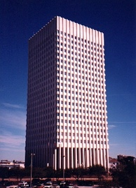 One Moody Plaza, the location of the American National Insurance Company
