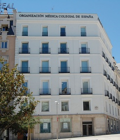 Headquarters of the Organización Médica Colegial de España, which regulates the medical profession in Spain