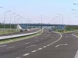 The first part of a bypass road around Lublin