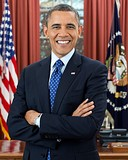 Barack Obama: 44th President of the United States; United States Senator from Illinois; Nobel laureate — Columbia College