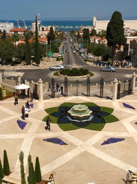 Ben-Gurion Avenue and the German Colony