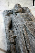 Tomb effigy of William Marshal in Temple Church, London