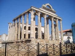 Temple of Diana.