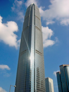 The International Finance Centre in Hong Kong, where many capital account transactions are processed.