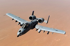 A-10 over Afghanistan, 2011