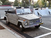 Burr's iconic 1973 VW Thing, front