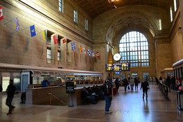 Toronto Union Station serves over 250,000 passengers a day