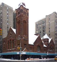 The landmark building of West-Park Presbyterian Church