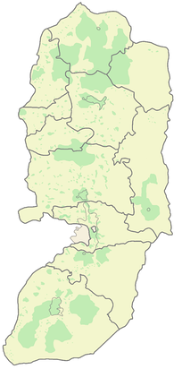 West Bank governorates.