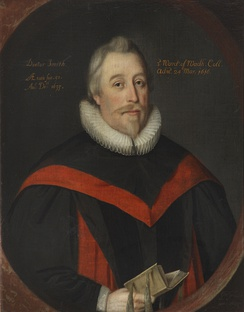 William Smyth, Vice-Chancellor of the University of Oxford; painting by Gilbert Jackson