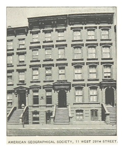 AMERICAN GEOGRAPHICAL SOCIETY, 11 W29th St, Manhattan