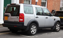 Pre–facelift Land Rover Discovery 3 TDV6 HSE