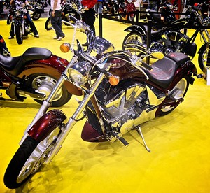2010 Honda Fury at the 2009 Seattle International Motorcycle Show 4.jpg