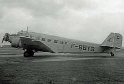 French-built AAC.1 of STA at Manchester Airport in 1948: This aircraft is preserved in Belgrade.