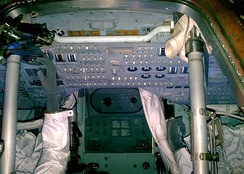 Interior view of the Apollo 13 capsule (2009)