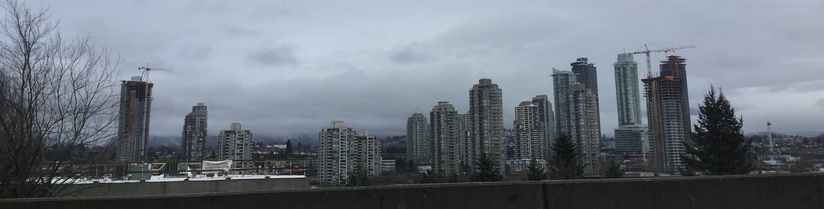 Burnaby, seen from Highway 1