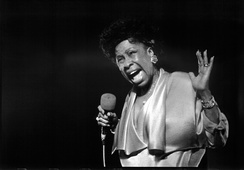 Betty Carter was known for her improvisational style and scatting.