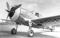 Curtiss P-36A 38-33 16th Pursuit Group 1940 (16P33)