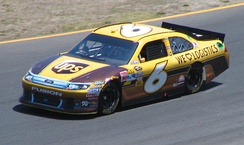 Ragan racing during the 2011 Toyota/Save Mart 350