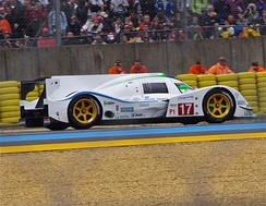 The Dome S102.5 that Bourdais drove at the 2012 24 Hours of Le Mans.