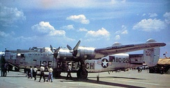 The last active USAF B-24, 44-51228 in 1952, just prior to its retirement