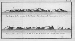 The Faroe Islands as seen by the Breton navigator Yves-Joseph de Kerguelen-Trémarec in 1767