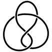 The figure-eight knot is the simplest amphichiral knot.