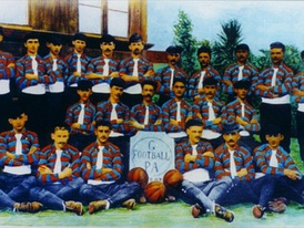 One of the first Gremio squads, December 1903