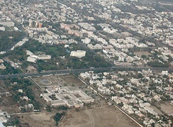 Bombay High Court Aurangabad Bench, ITC Welcomgroup's The Rama International, Ajanta Ambassador & Cidco Town Center – Aerial view