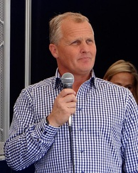 Johnny Herbert (pictured in 2014) criticised the resurfacing of the race track and voiced fears of a major accident occurring.