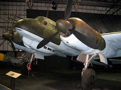 A surviving Ju 88R-1 night fighter with Kraftei unitized-installation BMW 801 engines. Royal Air Force Museum London (2007)