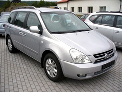 2006 Kia Carnival, short-wheelbase version, produced at the Sohari Plant