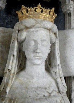 Effigy of Queen Margaret, founder and ruler of the Kalmar Union