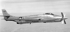 Supersonic jet-turboprop hybrid XF-88B