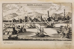 Mocha was Yemen's busiest port in the 17th and 18th centuries