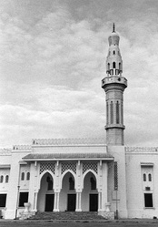 The Mosque of Islamic Solidarity in Mogadishu is the largest masjid in the Horn region.