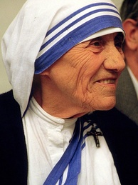 Saint Teresa of Calcutta advocated for the sick, the poor and the needy by practicing the acts of corporal works of mercy.