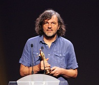 Film director Emir Kusturica won the Palme d'Or twice at Cannes Film Festival
