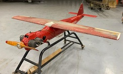 Original OQ-19 on display at AUVM, Aviation Unmanned Vehicle Museum