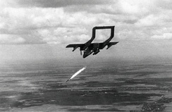 An OV-10A of VAL-4 attacking a target in Vietnam