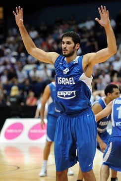 Omri Casspi, playing for Israel in 2010