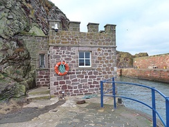 Ordnance Survey Tide Gauge House, Dunbar Harbour