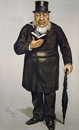 President Paul Kruger of the South African Republic by Leslie Ward in the 8 March 1900 issue