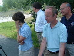 Frelinghuysen tours a Superfund site in his district