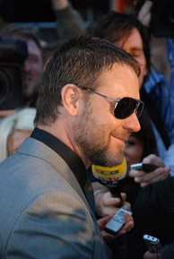 Crowe at London film premiere for State of Play, 21 April 2009