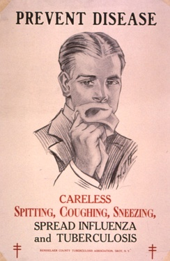Public health campaigns in the 1920s tried to halt the spread of TB.